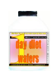 1 day diet wafers jeunique original one day diet wafers